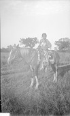 view Mopa, Son of Apiatan [Wooden Lance] and Breastplate, on Horseback 1891 digital asset number 1