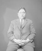 view Portrait (Front) of Sate Motay (Bear Paw), Called George Hunt MAY 1924 digital asset number 1