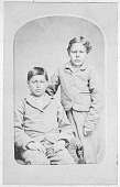 view Two Boys (Non-natives), Captives of Kiowa Tribe 1896 digital asset number 1