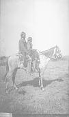 view Old Man Turkey with Tay-Kaun, Peyote Leaders, on Horseback Dress on Horseback 1892 digital asset number 1