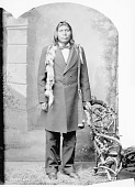 view Portrait (Front) of Henry Jim in Partial Native Dress 1878 digital asset number 1