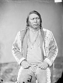 view Portrait (Front) of Ouray (Arrow) in Native Dress with Ornaments 1868 digital asset number 1