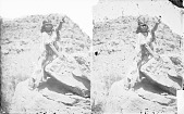view U-Wa, Wife of Chu-Ar-Ru-Um-Peak, in Native Dress with Ornaments 1873 digital asset number 1