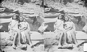 view Ku-Ra-Tu, Woman, and Won-Si-Vu, Both in Native Dress with Ornaments 1873 digital asset number 1
