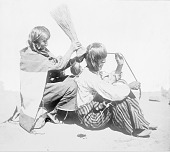view [Hair dressing, Walpi, Arizona] 1879 digital asset number 1