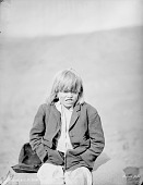 view Albino Boy On Rock 1884 digital asset number 1