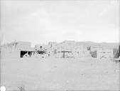 view View of South Pueblo From the Northwest Showing Beehive Ovens and Storage Platforms 1899 digital asset number 1