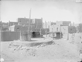 view View of South Pueblo and Kiva 1899 digital asset number 1
