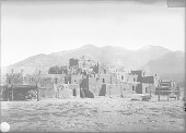 view [Taos, New Mexico. North town.] 1899 digital asset number 1