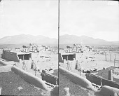 view View of Pueblo Showing Beehive Ovens 1879 digital asset number 1