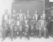 view Delegation of Pueblo Indians to Washington D.C. FEB 1913 digital asset number 1