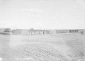 view [Looking across the plaza, Pueblo of Isleta, New Mexico] 1899 digital asset number 1