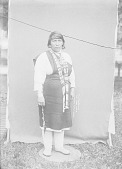 view Candileria Jaramillo in Native Dress with Ornaments n.d digital asset number 1