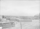 view View of Pueblo From North?; Church, Water Trough, and Beehive Ovens Also Shown 1899 digital asset number 1