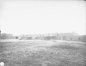 view [Looking across Plaza, Pueblo of Tesuque, New Mexico] 1899 digital asset number 1