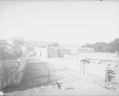 view [General view, showing church, Pueblo of Pojoaque, New Mexico] 1899 digital asset number 1