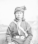 view Portrait (Front) of Andreas Ortis in Native Dress with Concha Belt 1882 digital asset number 1