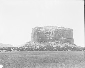 view View of the Rock of Katzimo or the Enchanted Mesa 1899 digital asset number 1