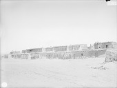 view View of Street in Pueblo Showing Row of Adobe House Cluster 1899 digital asset number 1