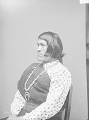 view Portrait (Profile) of We-Wha in Female Native Dress with Squash Blossom Necklace 1894 digital asset number 1