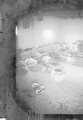 view Inside Adobe House Showing Metates, Pottery, Gourds, Corn, and Wood 1879 digital asset number 1