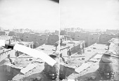 view Looking Over Rooftops, Church in Distance 1899 digital asset number 1