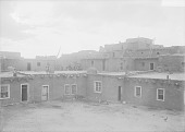 view Five-story Adobe House Cluster with Beehive Oven 1911 digital asset number 1