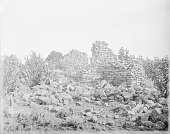 view Ruins of Heshota Ayahltona On Mountain, Commonly Called Thunder or Corn Thunder Mountain 1886 digital asset number 1