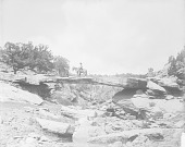 view [A natural bridge, near Fort Defiance, Arizona] July 1893 - September 1894 digital asset number 1