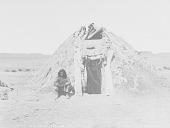 view Man Near Earth Lodge 1905 digital asset number 1