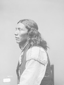 view Portrait (Profile) of George Noche or Naiche in Partial Native Dress with Ornaments 1886 digital asset number 1