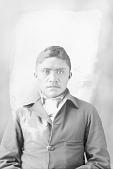 view Portrait (Front) of Leonard Kanesewah 1898 digital asset number 1