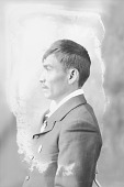 view Portrait (Profile) of Frank Mangus with Two Medals 1898 digital asset number 1