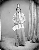 view Portrait of Apache man, Guerito or Man with Yellow Hair 1873 digital asset number 1