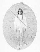 view Man in Native Dress Near Adobe Wall 1871 digital asset number 1