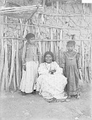 view Juana Garcia and Her Two Daughters, All Near Mud and Pole House 1894 digital asset number 1