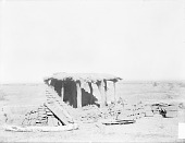 view Adobe House Under Construction, One Wall Completed 1894 digital asset number 1
