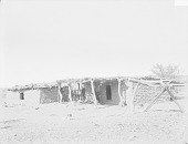 view Chief's Adobe House and Brush Arbor 1894 digital asset number 1