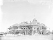 view Government Indian School; School Children Nearby 1894 digital asset number 1