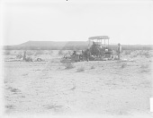 view Camp in Sonora Desert with Wagon and Group of People DEC 1900 digital asset number 1