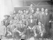 view Group of twenty-one, Crow Agency 1910 digital asset number 1