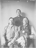 view Group of Arapaho and Pawnee 1907 digital asset number 1