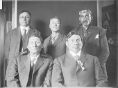 view Group of Cherokee, Yankton, and Sisseton 1909 digital asset number 1