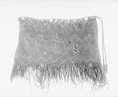 view View of buffalo hair bag, provenience unknown digital asset number 1