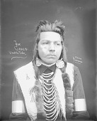 view Portrait (Front) of Joe Craig in Native Dress with Ornaments 1900 digital asset number 1