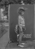 view Chief Pot Belly or Chief Big Sunday in Native Dress with Bear Claw Necklace, Possibly in Dance Costume? 1900 digital asset number 1