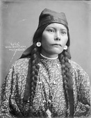 view Portrait (Front) of Keka in Partial Native Dress with Ornaments 1900 digital asset number 1