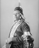view Portrait (Profile) of Stephen Reuben, Interpreter, in Native Dress with Ornaments APR 1900 digital asset number 1