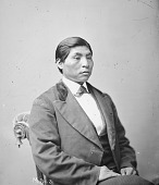view Portrait (Front) of Chief Dol-Wah-Ga-Us (Head Erect or Thrown Back), Also Called Shacknasty Jim 1877 digital asset number 1
