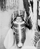 view Child in Decorated Cradleboard, Child of Parsons Motanic 1900 digital asset number 1
